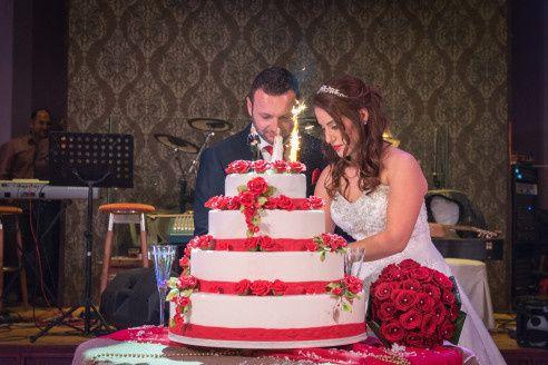 Frangoylis and Angelika's Wedding in Santorini, Greece 9