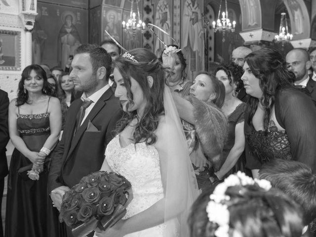 Frangoylis and Angelika's Wedding in Santorini, Greece 12