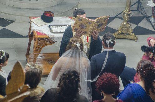 Frangoylis and Angelika's Wedding in Santorini, Greece 14