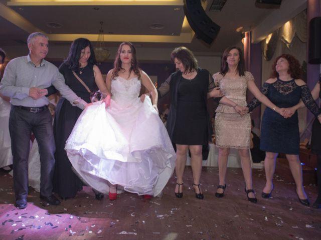 Frangoylis and Angelika's Wedding in Santorini, Greece 17