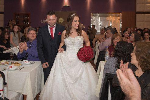 Frangoylis and Angelika's Wedding in Santorini, Greece 18