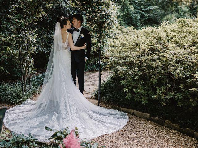 Alisa and Benjamin's Wedding in Roswell, Georgia 92
