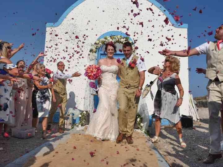 The wedding of Sophia and Nick