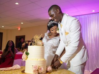 The wedding of Deandre and Shakera 1
