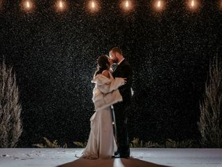 The wedding of Melissa and Bryan