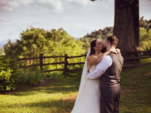 Sam and Emily's Wedding in Asheville, North Carolina 10