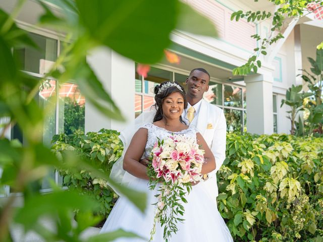 The wedding of Deandre and Shakera
