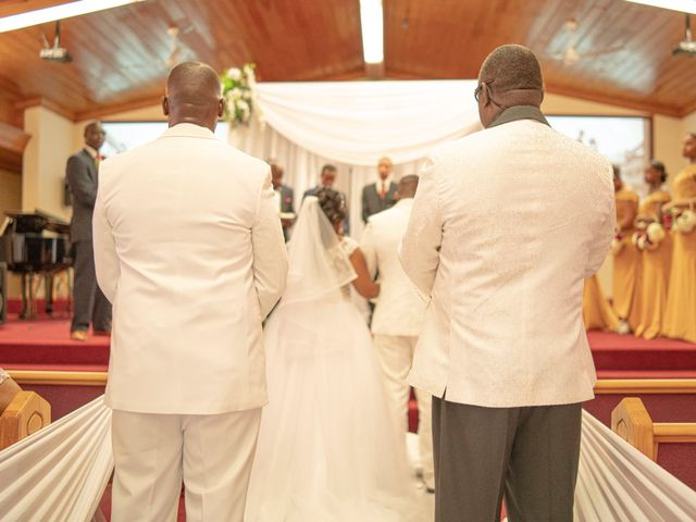 Shakera and Deandre's Wedding in Nassau, Bahamas 5