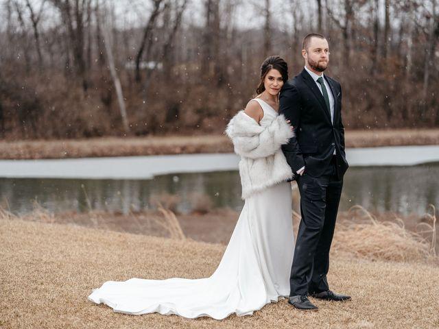 Bryan and Melissa's Wedding in Cottleville, Missouri 3