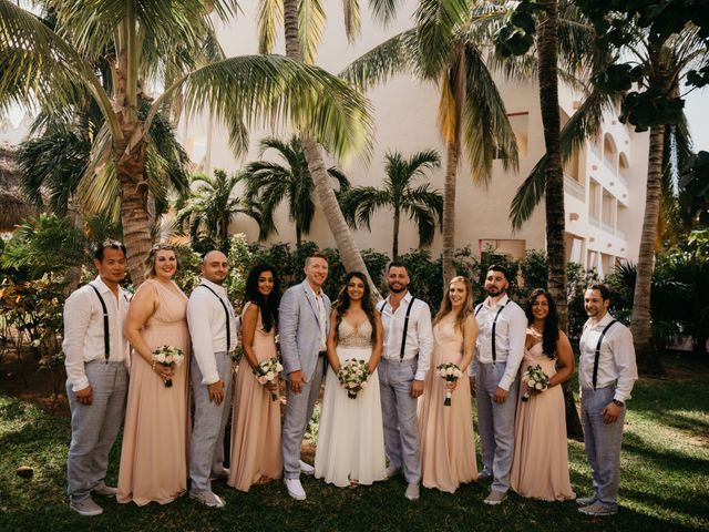 Layla and Kevin's Wedding in Cancun, Mexico 4