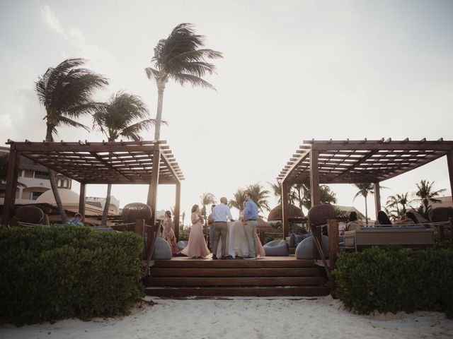 Layla and Kevin's Wedding in Cancun, Mexico 13