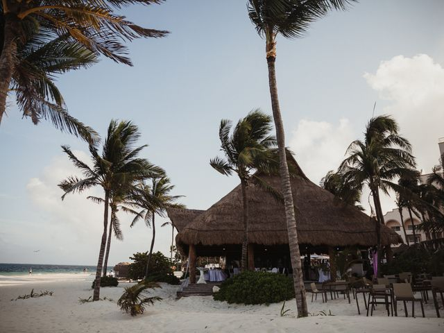 Layla and Kevin's Wedding in Cancun, Mexico 14