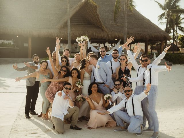 Layla and Kevin's Wedding in Cancun, Mexico 15