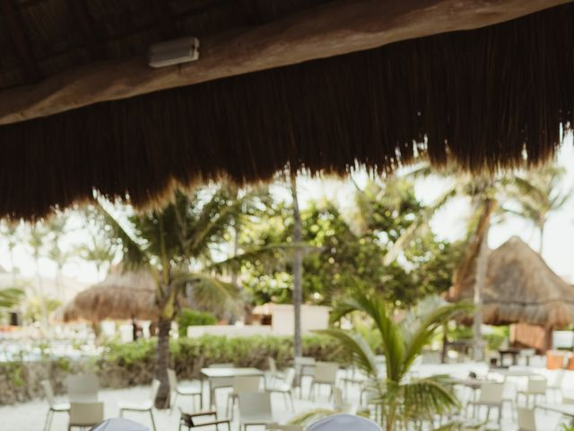 Layla and Kevin's Wedding in Cancun, Mexico 16