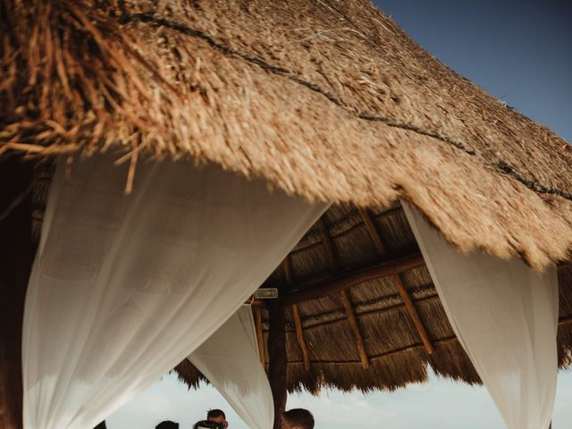 Layla and Kevin's Wedding in Cancun, Mexico 22