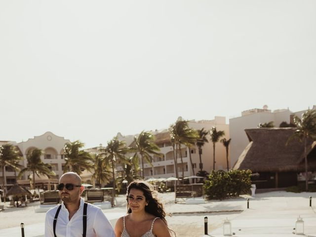 Layla and Kevin's Wedding in Cancun, Mexico 24
