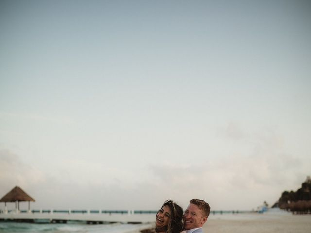 Layla and Kevin's Wedding in Cancun, Mexico 39