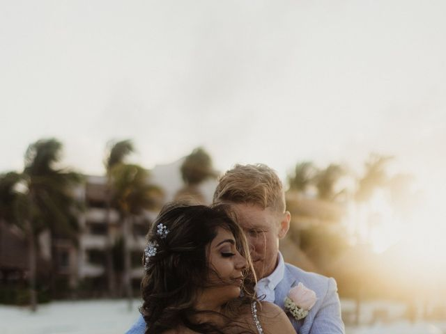 Layla and Kevin's Wedding in Cancun, Mexico 42