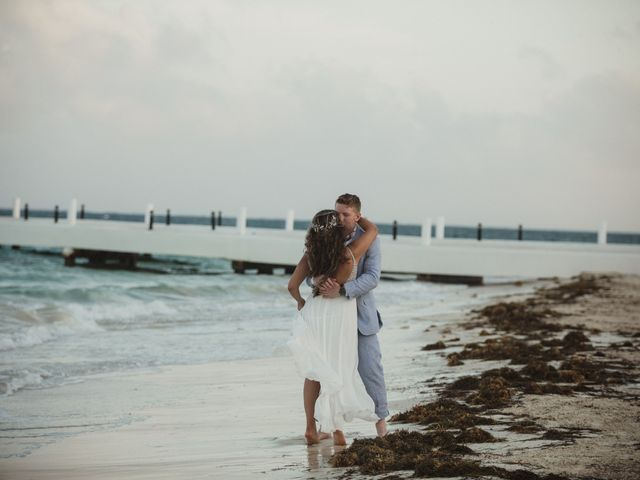 Layla and Kevin's Wedding in Cancun, Mexico 44