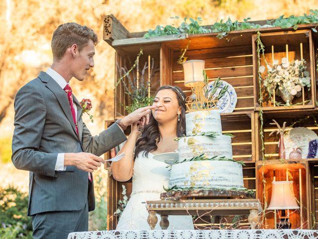 Hailee and Benjamin's Wedding in Oak Glen, California 17
