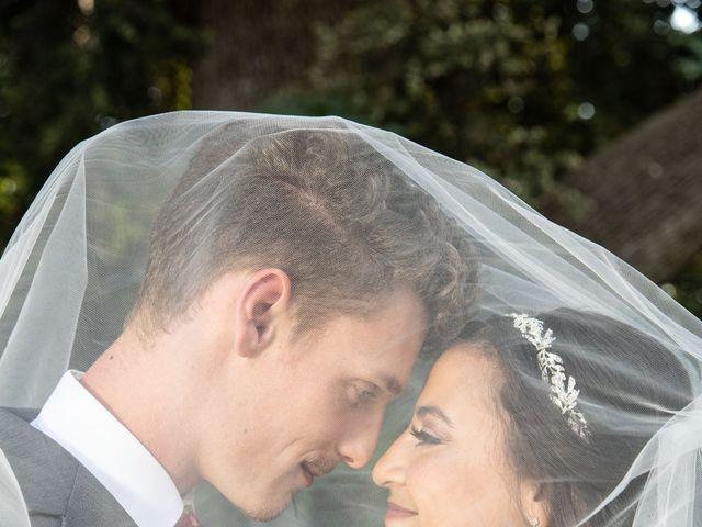 Hailee and Benjamin's Wedding in Oak Glen, California 22