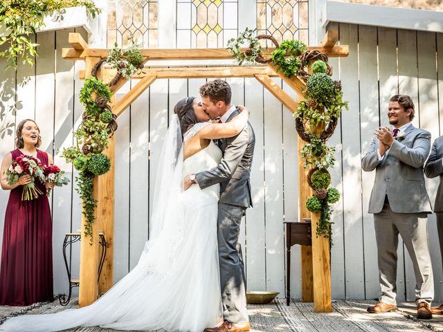 Hailee and Benjamin's Wedding in Oak Glen, California 29