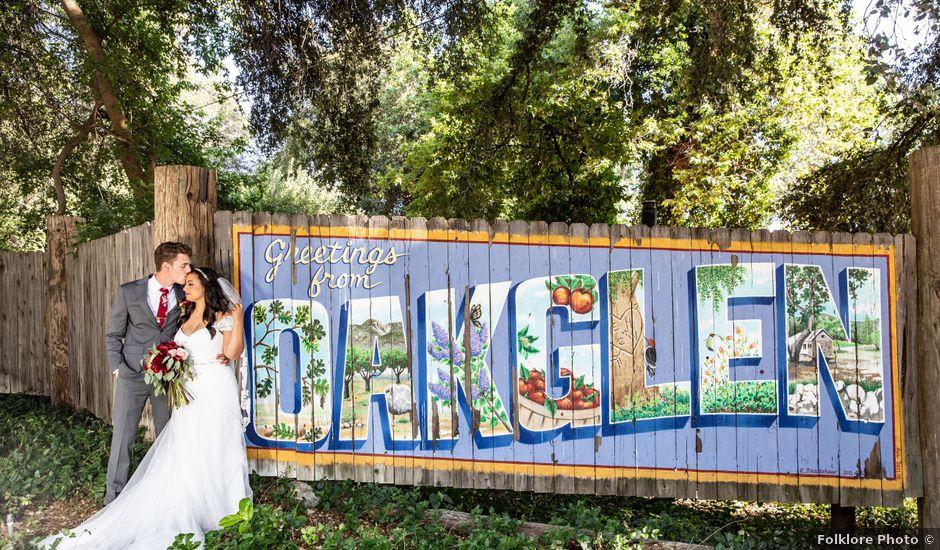 Hailee and Benjamin's Wedding in Oak Glen, California