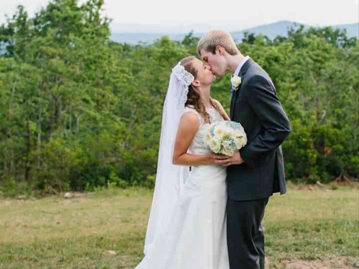 The wedding of Jonathan and Julie