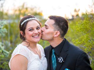 The wedding of Keri and Eric