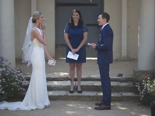 The wedding of Julie and Sam 3