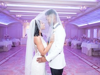 The wedding of Asha and Rohan