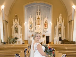 The wedding of Rebecca and Travis 2