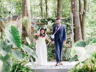 The wedding of Cristal and Callan