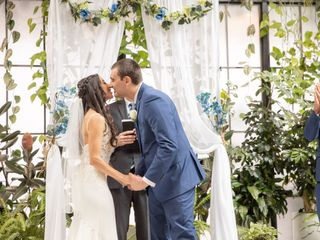 The wedding of Nicholas and Stefany