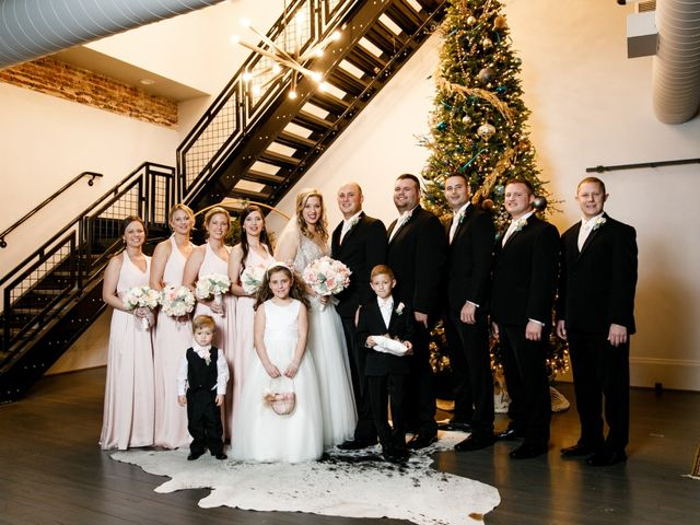 Nate and Brittney's Wedding in Shelby, North Carolina 9