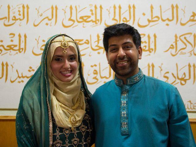 The wedding of Hasan and Shayla