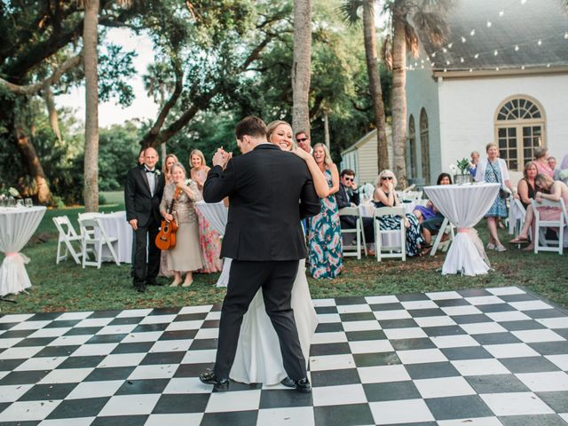 Clayton and Kelly's Wedding in Jacksonville Beach, Florida 44