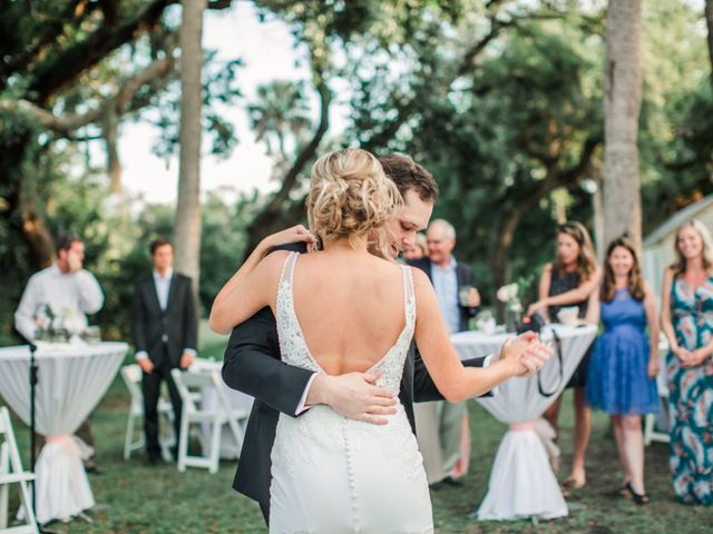 Clayton and Kelly's Wedding in Jacksonville Beach, Florida 47