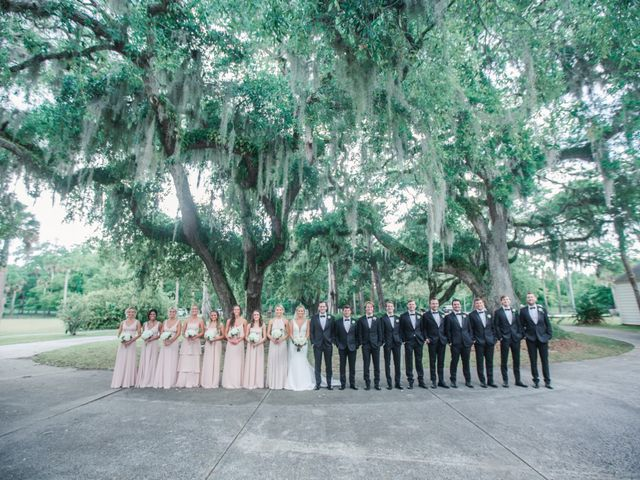 Clayton and Kelly's Wedding in Jacksonville Beach, Florida 125