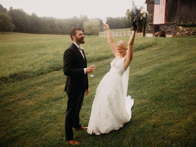 The wedding of Sarah and Cyrus
