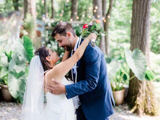 Callan and Cristal's Wedding in Stroudsburg, Pennsylvania 16