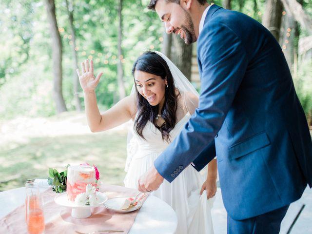 Callan and Cristal's Wedding in Stroudsburg, Pennsylvania 21