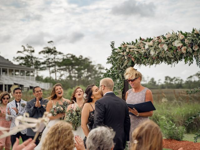 Brian and Ariana's Wedding in Wanchese, North Carolina 21