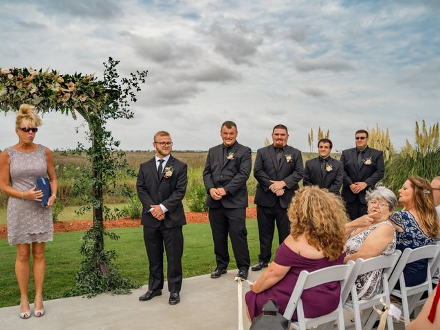 Brian and Ariana's Wedding in Wanchese, North Carolina 24