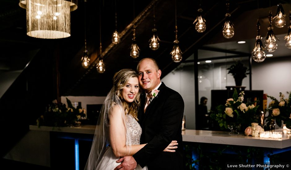 Nate and Brittney's Wedding in Shelby, North Carolina