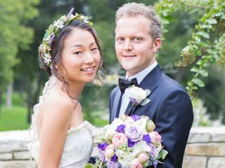 The wedding of Kyle and Jiyoung