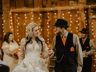 The wedding of Cassandra and Kristian