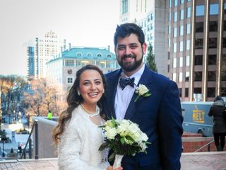 The wedding of Tali and Charlie 1