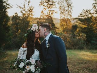 The wedding of Katie and Jordan