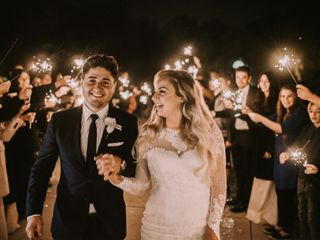 The wedding of Christen and Valentin